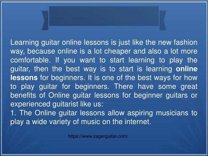 Learn To Play Guitar The Fastest Way - The Busker ...