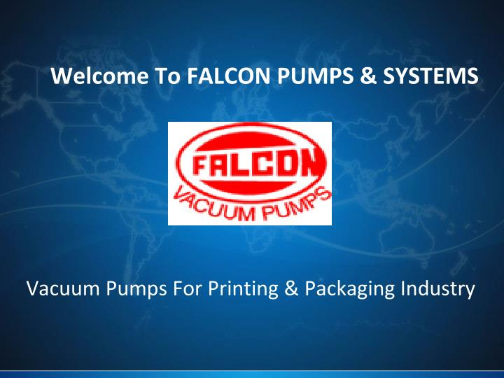 Welcome to falcon pumps systems