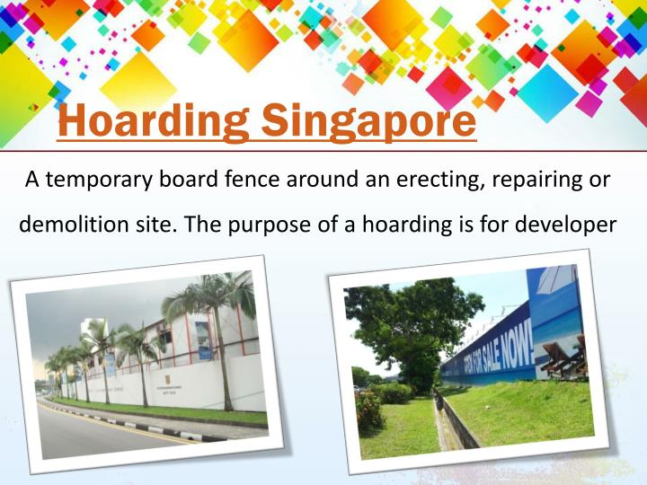 Hoarding Singapore
