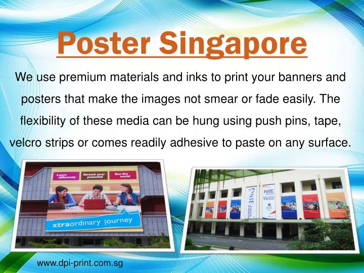 Poster Singapore