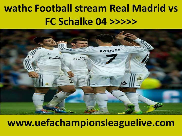 Real Schalke Stream