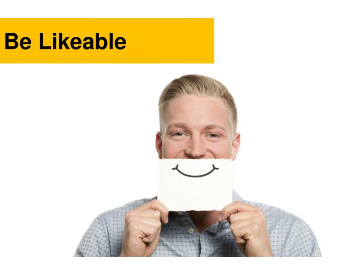 Be Likeable