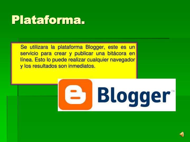 Plataforma.