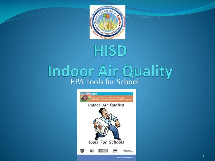 hisd indoor air quality n.