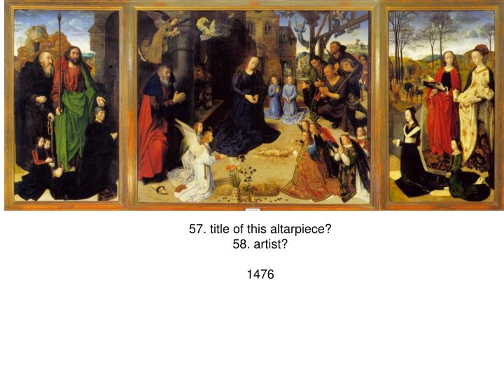 57. title of this altarpiece?