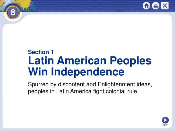 enlightenment in latin america The enlightenment in europe and the americas europe and america the enlightenment or age of reason: 1700s/eighteenth century – europe and america.