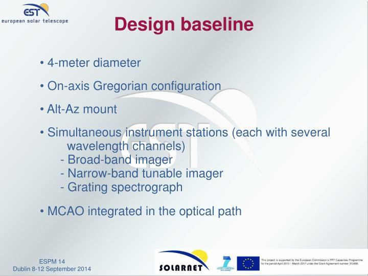Design baseline