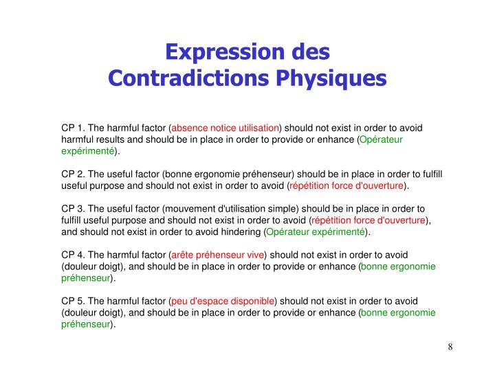 Expression des