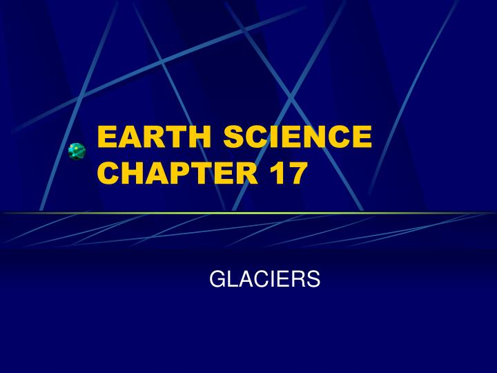 earth science chapter 17 n.
