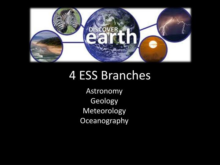 4 ess branches n.