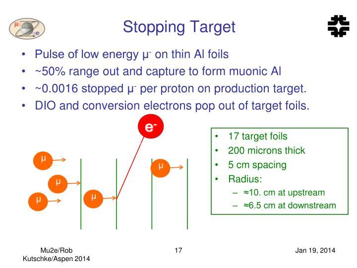 Stopping Target
