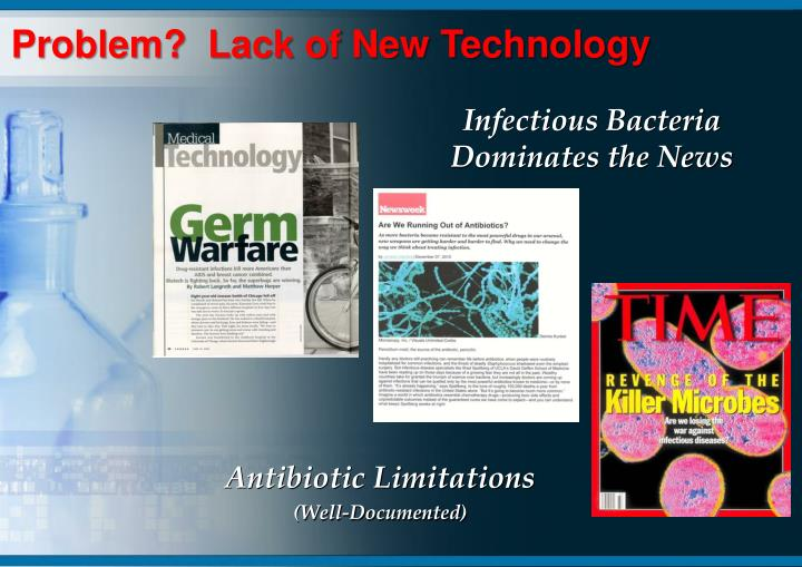 Infectious bacteria dominates the news