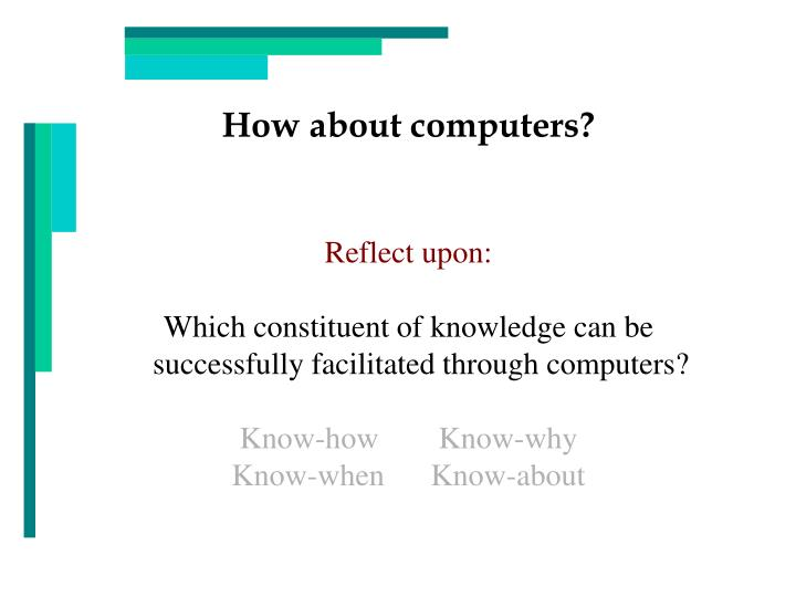 How about computers?