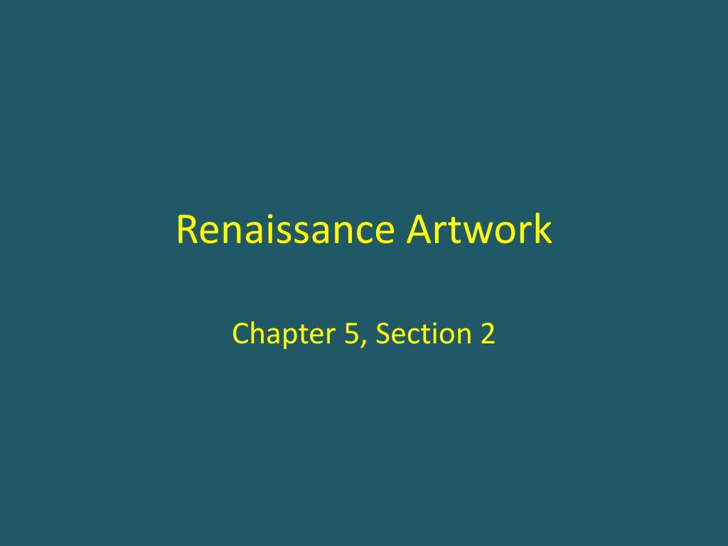 ppt renaissance artwork powerpoint presentation id 5374431