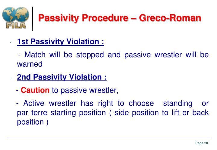 Passivity