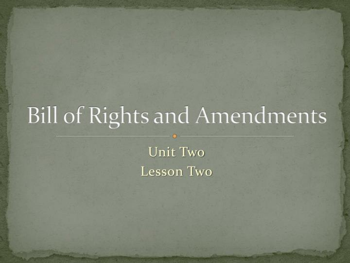 ppt bill of rights and amendments powerpoint presentation id 5374658