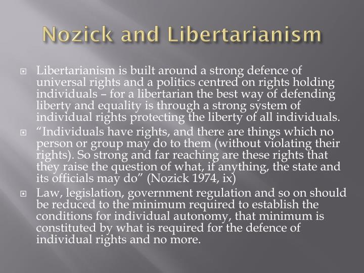 a comparison of nozick and rawls theories Going off the rawls to understand rawls's theory, one first needs to grasp what he was reacting against the dominant approach in pre-rawls political philosophy was utilitarianism: rawls and nozick were at one time on very good terms.