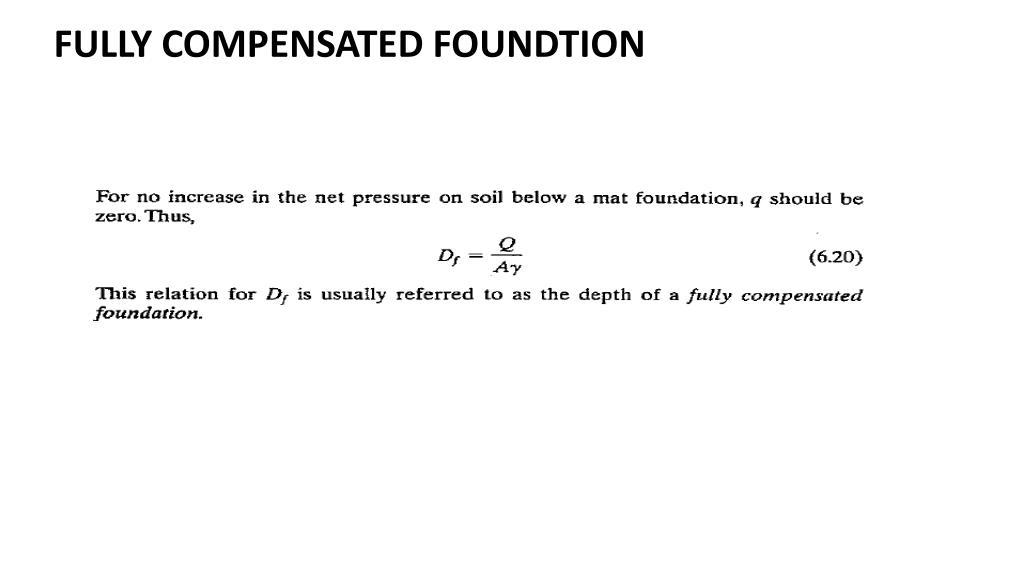 PPT - RAFT FOUNDATIONS MAT FOUNDATION PowerPoint Presentation - ID