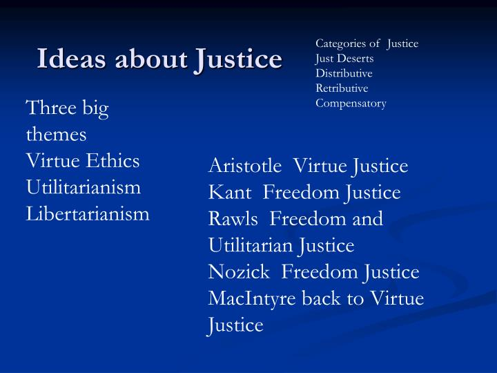 how does aristotle's ideas on justice ♠aristotle´s nicomachean ethics and politics justice is the intermediate position between doing injustice and suffering it one has more, the other less, than their share it is that state of virtue in which the individual is capable of doing just acts from choice and of distributing property, not in a way which.
