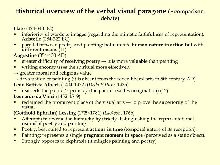 picture theory essays on verbal and visual representation Ekphrasis or ecphrasis, comes from the greek for the description of a work of art produced as a rhetorical exercise, often used in the adjectival form ekphrastic, is a vivid, often dramatic, verbal description of a visual work of art, either real or imagined.