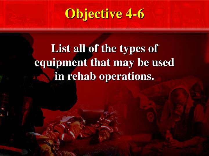 Objective 4-6