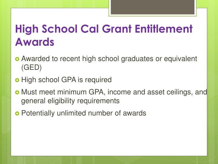 100 Cal Grant Income Ceiling 2017 Salary Definition Source · PPT I Ve  Applied For A Cal Grant What S Next PowerPoint