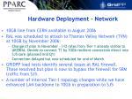 hardware deployment network