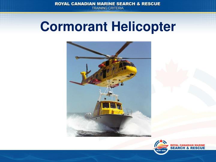 Cormorant Helicopter