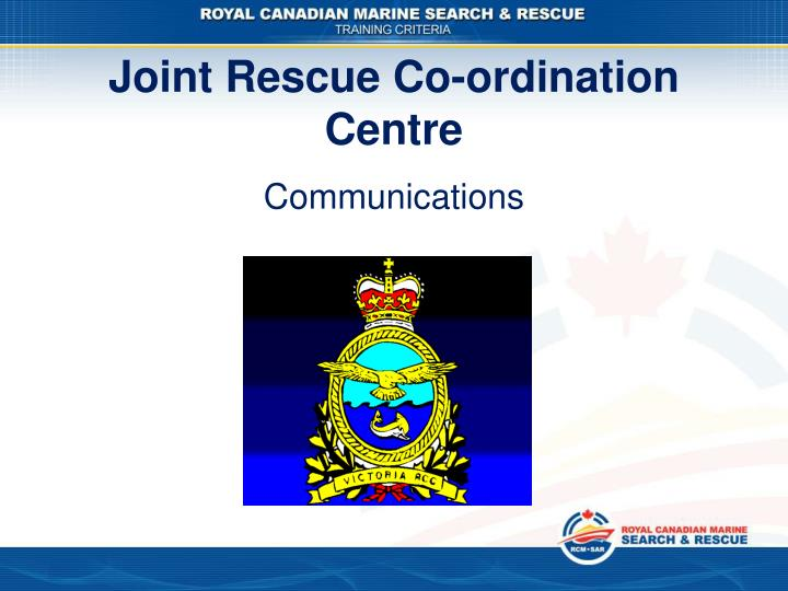 Joint Rescue Co-ordination Centre