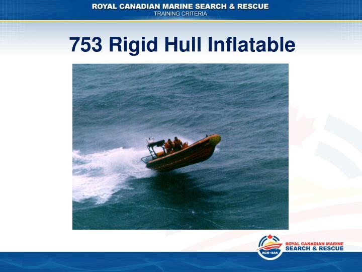 753 Rigid Hull Inflatable