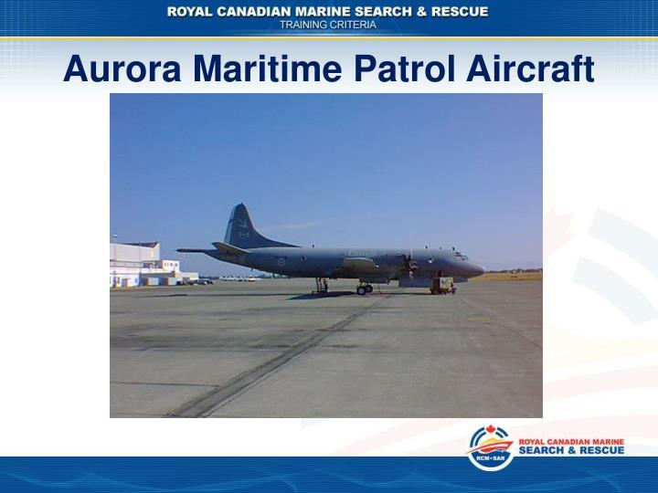Aurora Maritime Patrol Aircraft