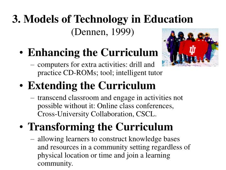 3. Models of Technology in Education