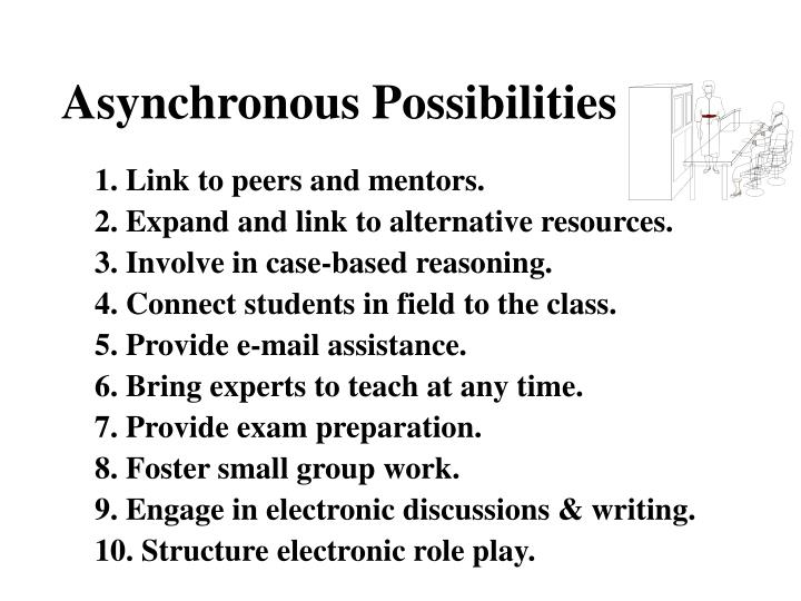 Asynchronous Possibilities