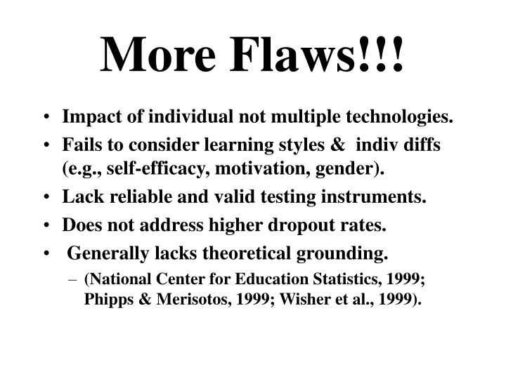 More Flaws!!!