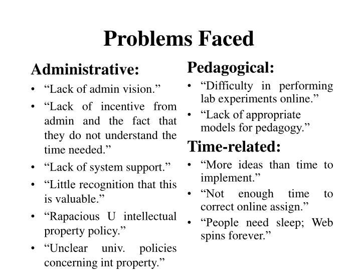 Administrative: