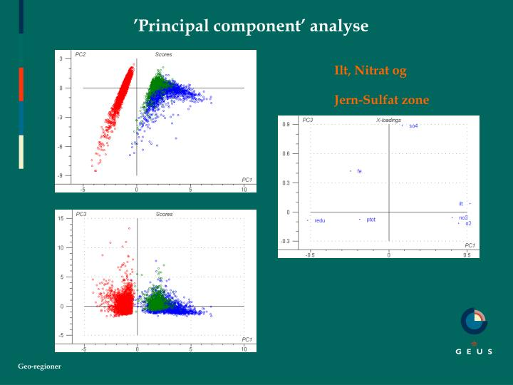 'Principal component' analyse