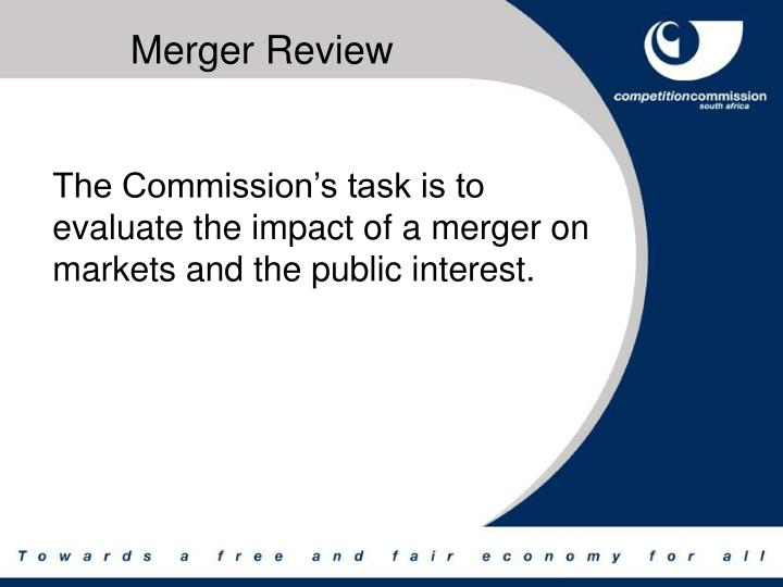 Merger review