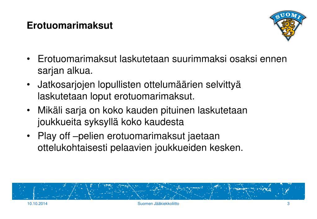 Jääkiekkoliitto Palvelusivusto