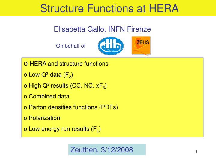 structure functions at hera n.