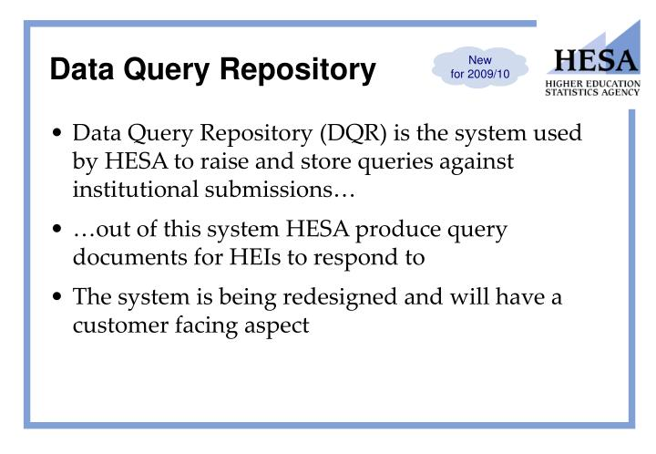 Data Query Repository