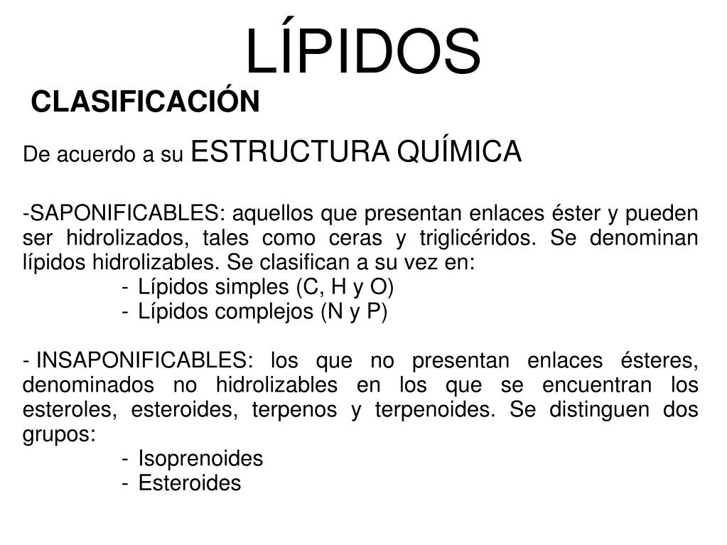 Ppt Unidad 5 Lípidos Powerpoint Presentation Free