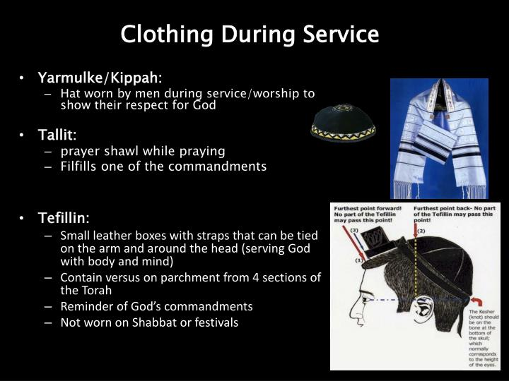 Clothing During Service
