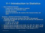 11 1 introduction to statistics2