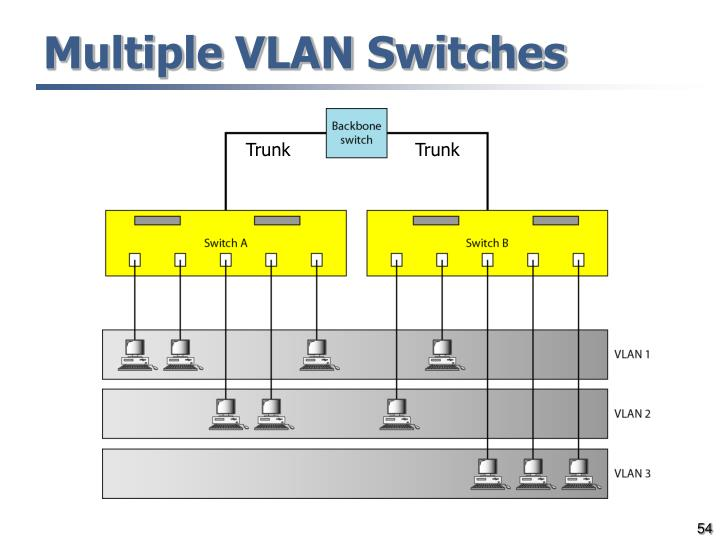 Multiple VLAN Switches