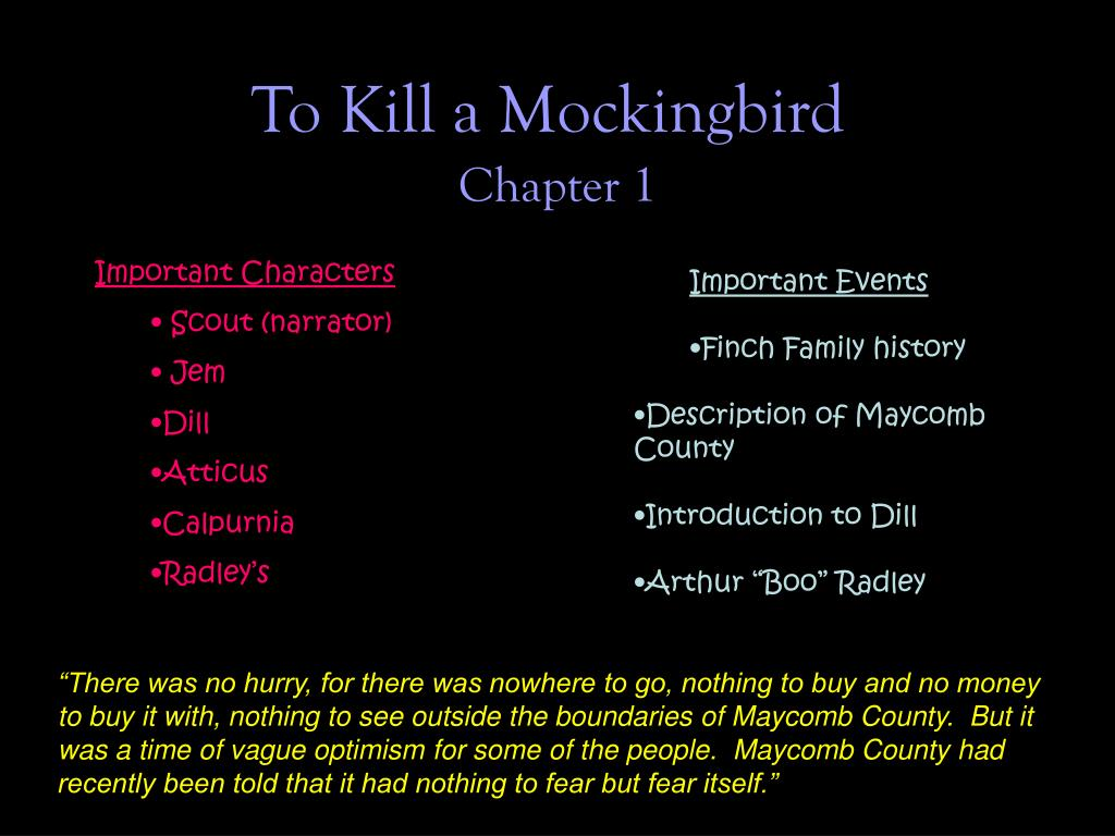radley family to kill a mockingbird