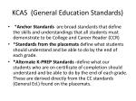 kcas general education standards