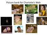 picture bank for charlotte s web
