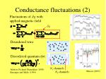 conductance fluctuations 2