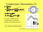 conductance fluctuations 3