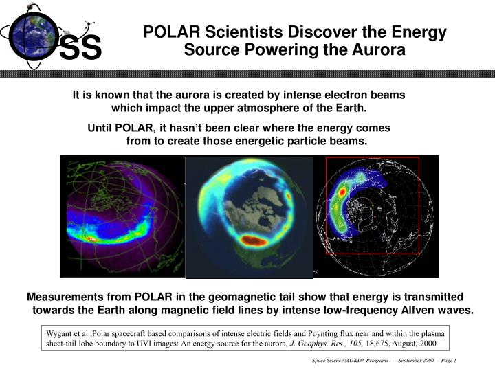 polar scientists discover the energy source powering the aurora n.